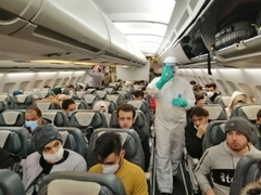 Iran Evacuates Its Citizens From China's Wuhan Over Outbreak Of Coronavirus