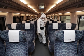 Russia Halts Rail Linkage With Nice Due To Coronavirus