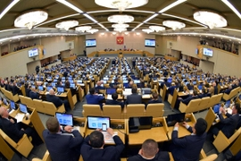 Russian Parliament Backs Amendments To Constitution