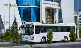 Hyundai, Turkmenistan Sign $60M Bus Supply Deal