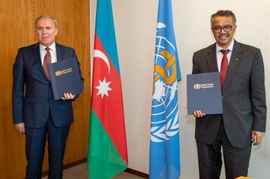 Azerbaijan, WHO Boost Anti-COVID-19 Efforts With Second Donor Agreement