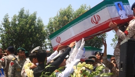 Iran Holds Funeral For Victims Of Naval Accident