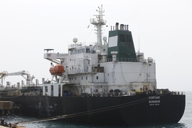 Iranian Fuel Tankers Dock In Venezuelan Port