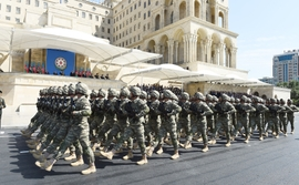 Azerbaijan Celebrates Creation of Country's Armed Forces