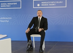 Azerbaijan President Criticizes OSCE Minsk Group Inaction On Armenia's Illegal Activities