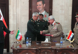 Iran, Syria Sign Deal to Boost Defense Cooperation