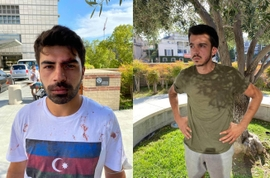 Armenians Attack Peaceful Azerbaijani Protesters In US, Europe