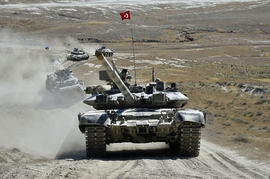 Joint Azerbaijani-Turkish Military Drills Continue