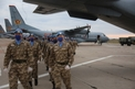Kazakh Troops Return Home From Lebanon Mission