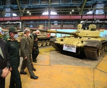 Iran Unveils Upgraded Line Of Army Tanks