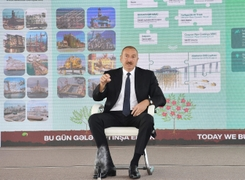 President Aliyev Blames Armenia For Nagorno-Karabakh Negotiations Deadlock