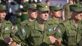Russian Peacekeeping Forces Deployed to Nagorno-Karabakh Region of Azerbaijan