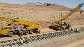 Iran's First Export Shipment Arrives in Afghanistan Via New Railway