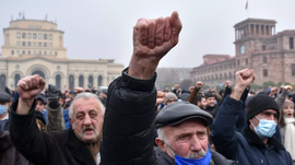 Armenia's PM Faces Unceasing Protests After Signing Ceasefire With Azerbaijan