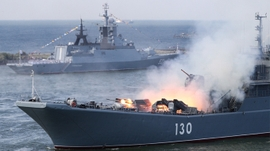 Iranian, Russian Navies Conduct Joint Drill in Indian Ocean