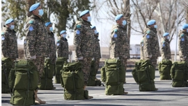 Kazakhstan's Blue Helmets Leave for Lebanon to Join UN Peacekeeping Mission