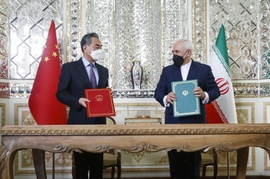 Iranian Top Officials Hail 'Strategic' Deal With China