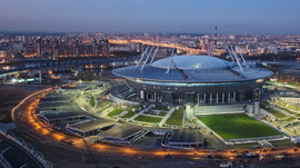St. Petersburg Arena Aims to Fill Half of Its Capacity at Euro 2020 Games