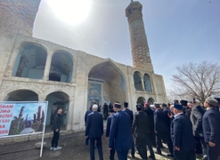 Multi-Faith Congregation of Muslims, Jews, & Christians Takes Place in Azerbaijan's Karabakh Region