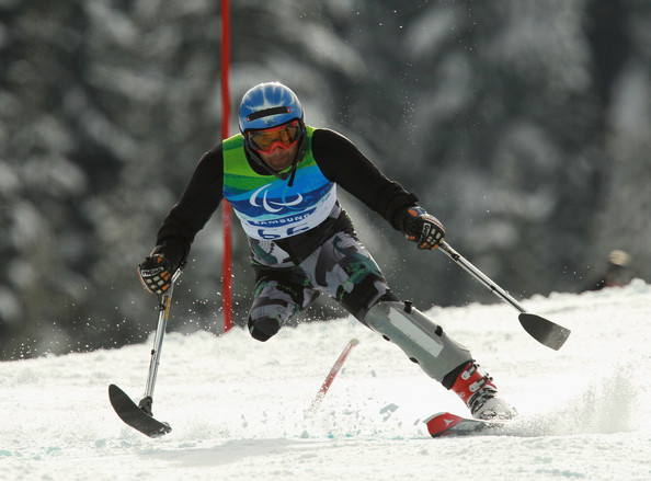 Simon Patmore wins Australia's first gold at Winter Paralympics