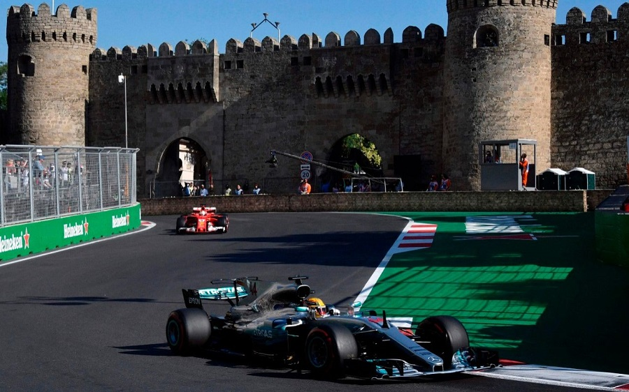 How to watch the Azerbaijan GP for free