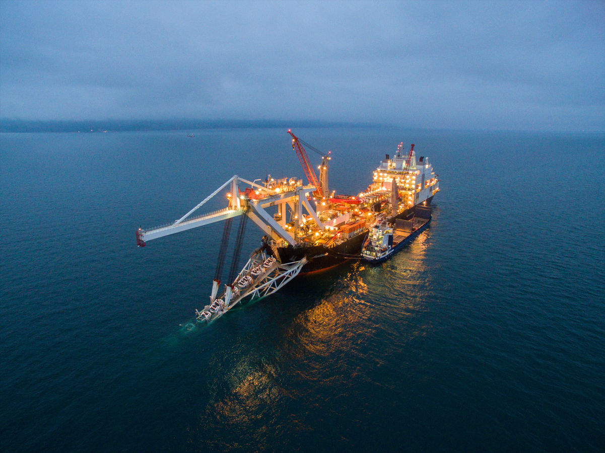 Gazprom Completes Construction of Turkish Stream Shelf