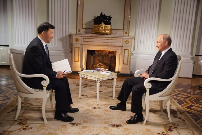 Putin: Co-operation with China at unprecedented level