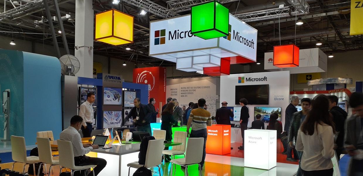 Tech Giants Demonstrate Latest Telecom Innovations At Bakutel 2018 Exhibition Caspian News
