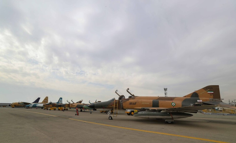 Iran's Air Force Receives 8 Overhauled Military Aircraft
