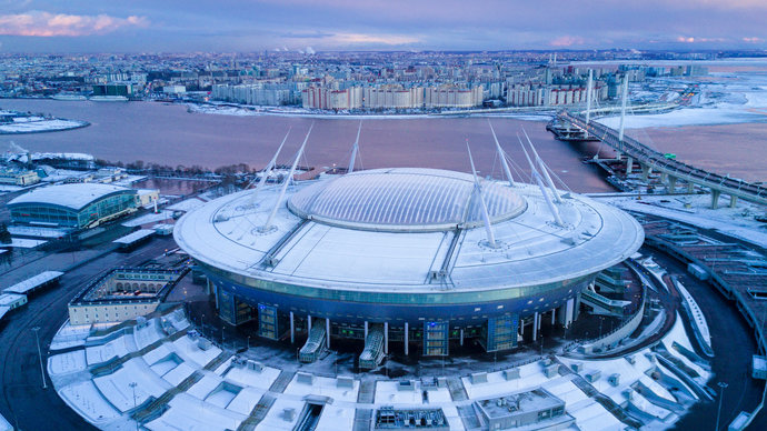 Russia's Gazprom Arena Expects to Receive Compensation from UEFA for Euro  2020 Cancellation - Caspian News